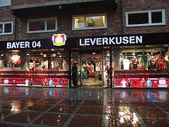 Leverkusen, Fanshop (2)