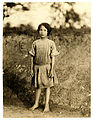 Lewis Hine, Ruth Rous, age 11 or less, cotton mill worker, Randleman, North Carolina, 1913.jpg