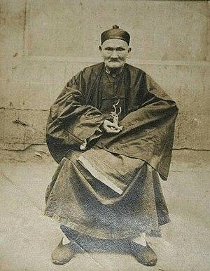 Li Ching-Yuen - Li Ching-Yuen at the residence of National Revolutionary Army General Yang Sen in Wanxian, Sichuan in 1927