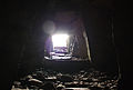 Light entering the chamber of one of the monuments at Carrowkeel.jpg