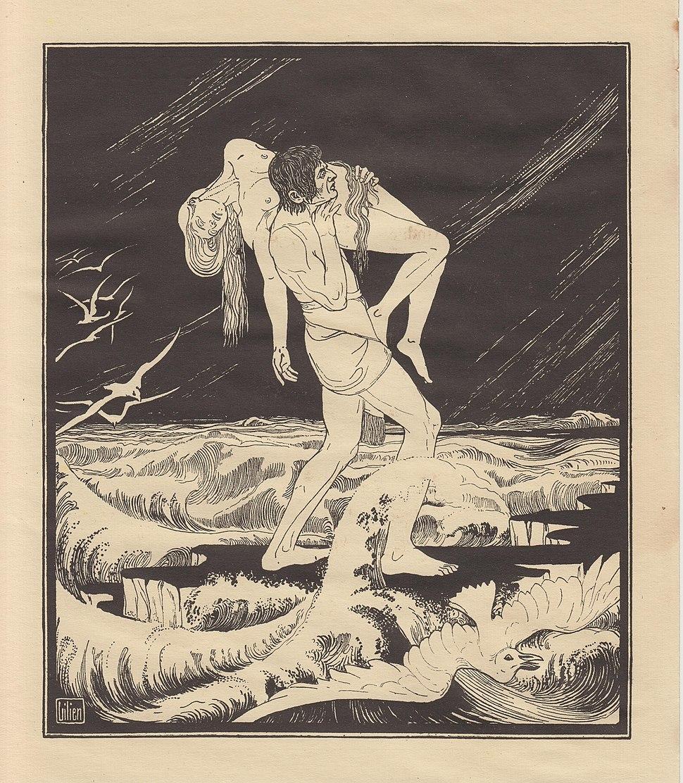 Lilien Ephraim Moses, Potop, 1923