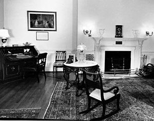 President's Dining Room - Lincoln Bedroom in 1947.