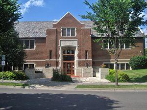 Linden Hills Library - Image: Linden Hills Branch Library