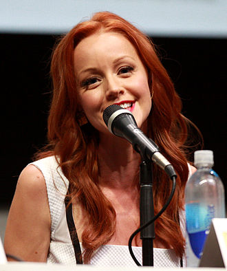 Lindy Booth - Booth at the 2013 San Diego Comic Con International in California