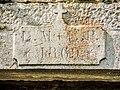 Linteau daté de 1869. Amondans.jpg