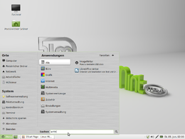 "Screenshot di Linux Mint 13 (""Maya"")"