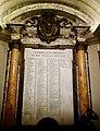List of all Popes, St. Peter's Basilica (31679463147).jpg