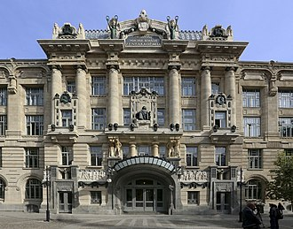 Franz Liszt Academy of Music - The New Academy, facing Ferenc Liszt Square