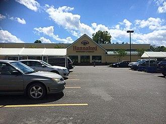 Hannaford Brothers Company - Image: Livingston, NY Hannaford