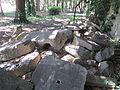 Livorno -Villa Fabbricotti, resti provenienti dalla chiesa armena-.JPG
