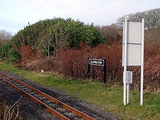 Llanbadarn railway station