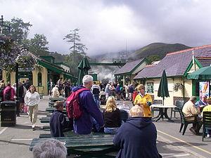Llanberis - Llanberis Station forecourt