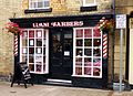 Llani Barbers, Llanidloes (15517913316).jpg