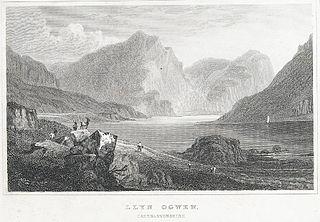 Llyn Ogwen. Caernarvonshire