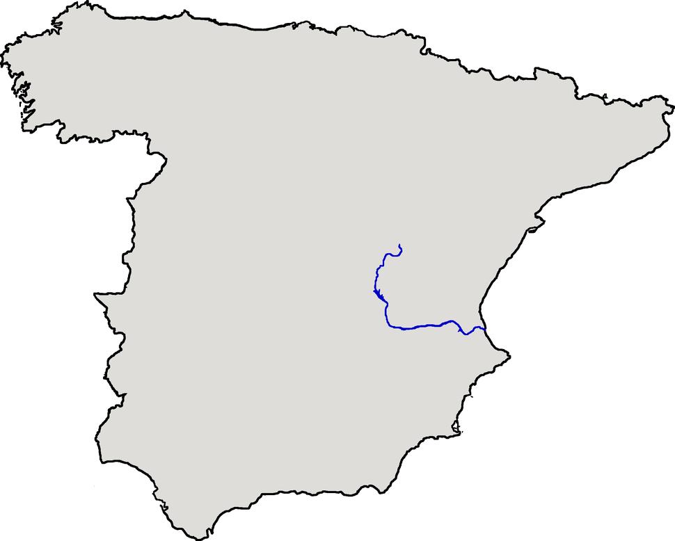 Localización del río Júcar