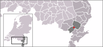 Baexem - Image: Locatie Baexem