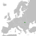 Location map of the Republic of Carpatho-Ukraine in Europe in 1939.png