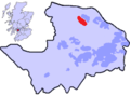 Location of Dargavel Village within the county of Renfrewshire.png