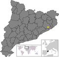 Location of Massanet de la Selva.png