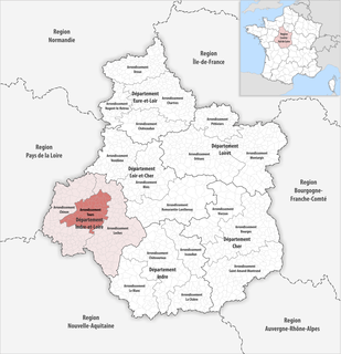 Arrondissement of Tours Arrondissement in Centre-Val de Loire, France