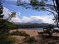 Loch Morlich's sight toward Cairn on summer - panoramio.jpg