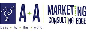 English: Logo A+A Marketing Consulting Edge Es...