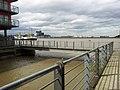 London, Woolwich Dockyard, disused slip at Mast Quay 09.jpg