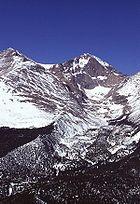 Longs Peak in Rocky Mountain National Park.