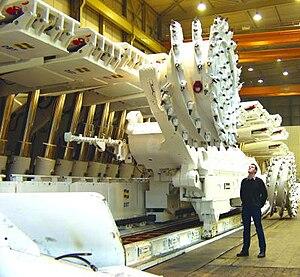 Longwall mining - Hydraulic chocks, conveyor and shearer