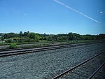 Looking out the left window on a trip from Union to Pearson, 2015 06 06 A (404) (18455676220).jpg