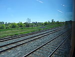 Looking out the left window on a trip from Union to Pearson, 2015 06 06 A (425) (18019183824).jpg