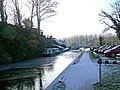 Looking south to Greensforge Lock, Staffordshire and Worcestershire Canal - geograph.org.uk - 1672358.jpg