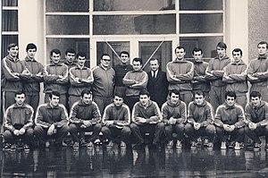 1970 World Men's Handball Championship - The national team of Romania, world champions in 1970
