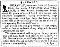 Louisiana Courier-2-4-1851 Runaway Slave Ad.jpg