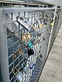 Love Locks on Lagan Weir in Belfast 2013-09-01 11-04.jpg