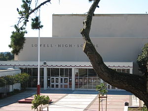 Lowell High School (San Francisco) - Lowell High School's Main Entrance.