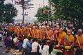 Luang Phabang, tàak bàat ceremony at the That Luang (6172932646).jpg