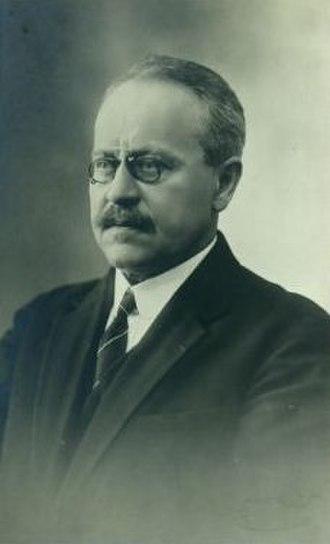 Ludvig Puusepp - Ludvig Puusepp in 1920s.