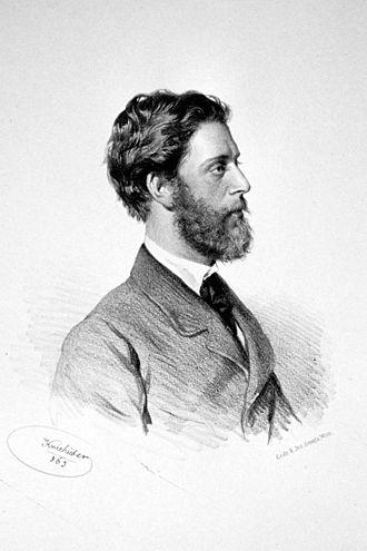 Ludwig Passini - Ludwig Passini, Lithography by Josef Kriehuber