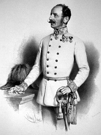 Ludwig von Benedek - Ludwig von Benedek (lithography of Eduard Kaiser, 1857)