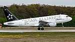 Lufthansa (Star Alliance livery) Airbus A319-114 (D-AILF) at Frankfurt Airport (5).jpg