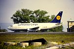 Lufthansa Cargo B737-200F D-ABHE at FBU (15523634003).jpg