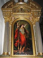 Archanděl Michael ve své zbroji