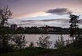 Lycksele, Ume River at a summer night.jpg