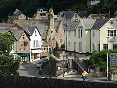 Lynmouth Church and village buildings - geograph.org.uk - 1456690.jpg