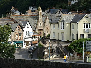 Lynmouth - Lynmouth village