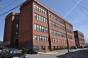 English High School (1892 building) - Image: Lynn MA Old English High School Building