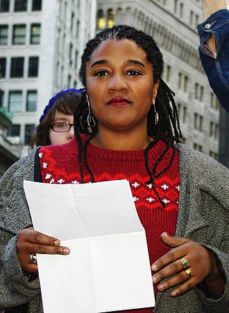 Lynn Nottage - Nottage reading at Occupy Wall Street, November 2011