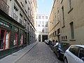 Lyon 2e - Rue Tony Tollet sens sud-nord (mars 2019).jpg