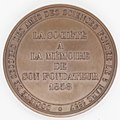 Médaille Albert BARRE Louis Jacques THENARD 1858 Revers.jpg